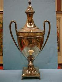 266: 18th Century English Sterling Tea Urn, London 1783