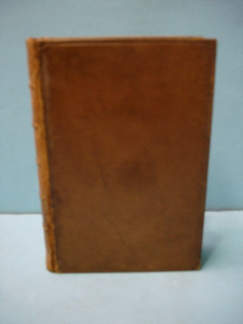 "7: Leather Bound Book -""The  Autobiography of a Seaman"""