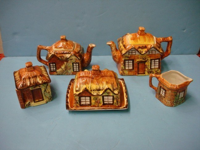 12: Price Kensington 5 Pc. English Cottage Ware Tea Set
