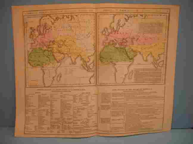 254: Double Map -  Chart of the World as Known to the A
