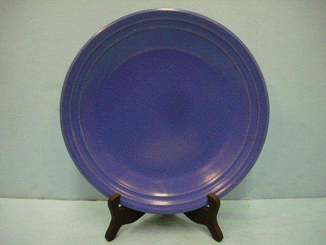 11: Blue Fiesta Style Plate