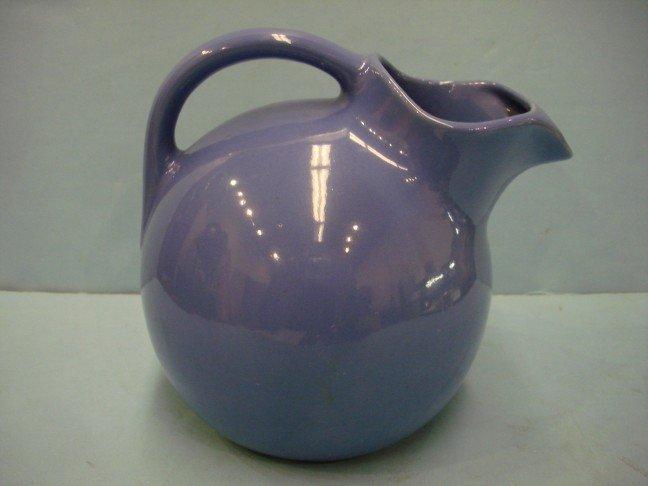 23: Blue Glazed Rumrill Pottery Pitcher