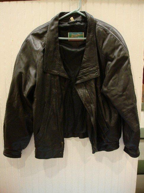 140: Shelter Bay Man's Leather Jacket