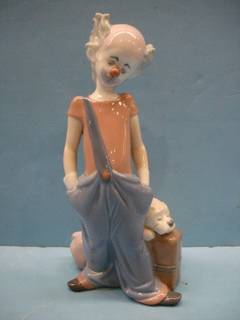 196: Lladro 1996 Event Figurine - Clown