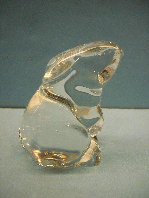 15: Baccarat Crystal Figure - Rabbit