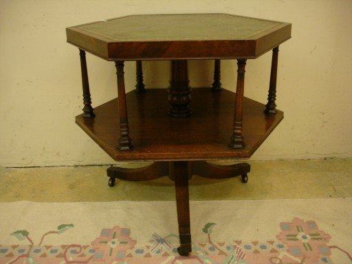 20: Duncan Phyfe Octagon Shaped Parlor Table
