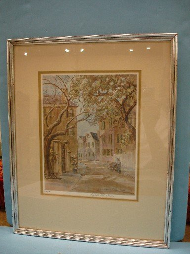 Two Elizabeth Oneill Verner Lithographs - Lower Church