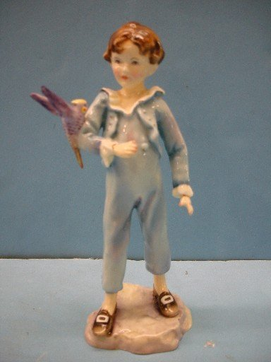 Royal Worcester Figurine - The Parakeet
