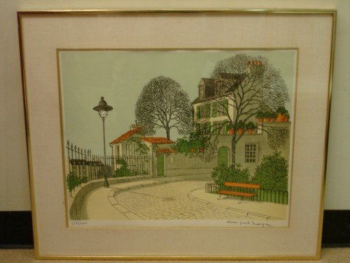 Dennis Paul Noyer Limited Edition Lithograph