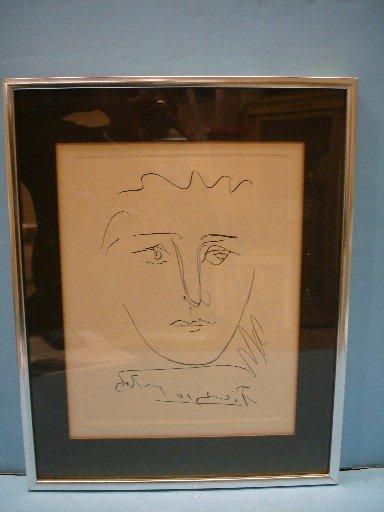 53: Pablo Picasso Original Etching