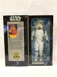 Star Wars Toy Signed Mark Hamill Harrison Ford