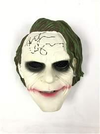 Signed Joker Heath Ledger Mask