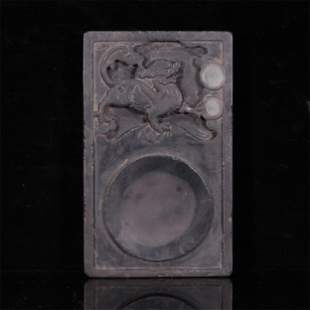 A QING STYLE INK-STONE