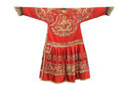 A Piece of Chinese Embroidered Robe