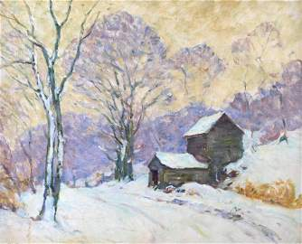 William Chadwick (Connecticut, 1879-1962), oil on