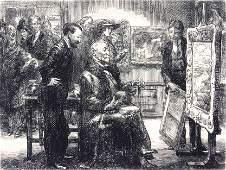 John Sloan American 18711951 The Picture Buyer