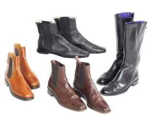 VINTAGE CLOTHING: Eight pair women's boots, most Ralph