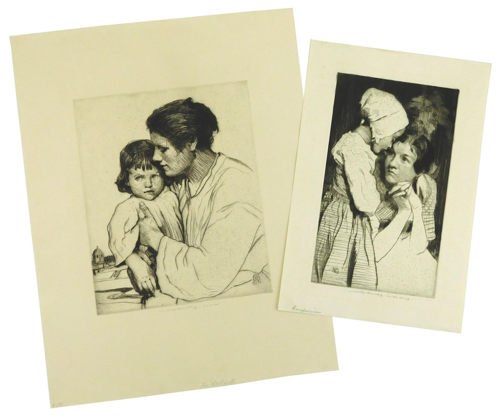 Williams Lee-Hankey, two prints, the first titled