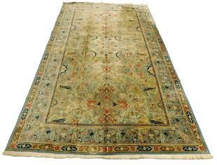 "RUG: Semi-Antique Persian style design, 16' 7"" x 10',"