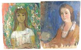Marion Huse (American, 1896-1967), two works, the