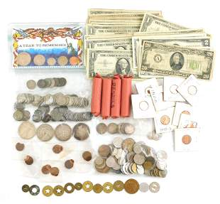 COINS: Balance of coin collection. Includes small size