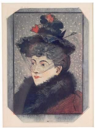 Eugène Delatre (France) 1864-1938. Tete de la