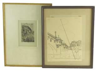 André Derain (France) 1880-1954. Le pont neuf.
