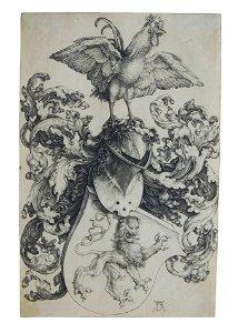 Albrecht Dürer (Germanic) 1471-1528. Coat-of-Arms