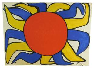 Alexander Calder (United States) 1898-1976. Soleil.