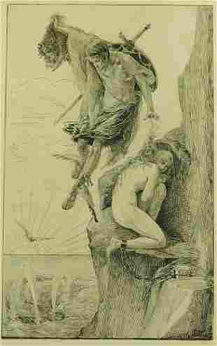 Howard Bevin Bare (United States) 1884-1946. Perseus