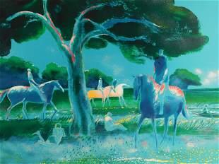 Paul Guiramand (France) 1926-2007. Arbre au Bois de