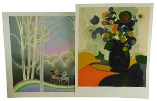 André Minaux (France) 1923-1986. Bouquet de