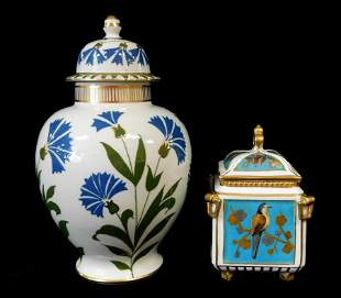 English porcelain, two pieces including: Wood & Sons
