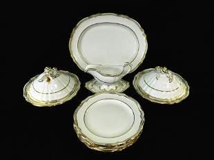 "CHINA: Spode ""Sheffield"" pattern dinnerware, eleven"