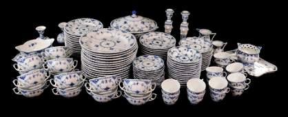 "CHINA: Royal Copenhagen ""Blue Fluted"" blue and white"