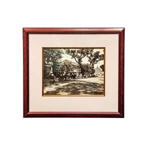 Framed Nantucket Photograph