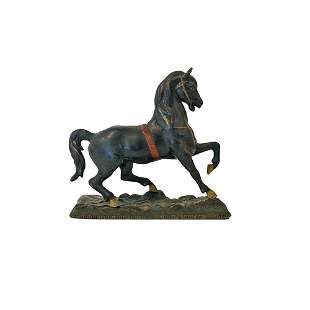 Cast Metal Horse Toy