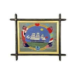 Sailors Woolwork , True Love HMS Diana
