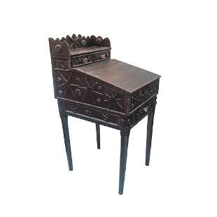 Tramp Art Style Desk