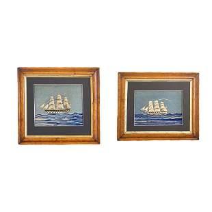 Pair British Sailors Woolies