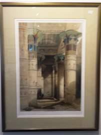 View Under the Grand Portico, Philae