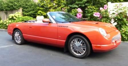 2003 T-Bird Limited Edition # 66 of 700