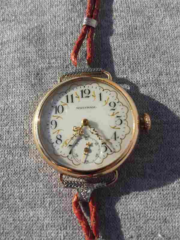 Pocket Converted to Wrist Watch (Woman's)