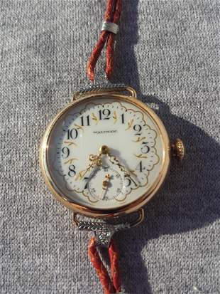 Pocket Converted to Wrist Watch Womans