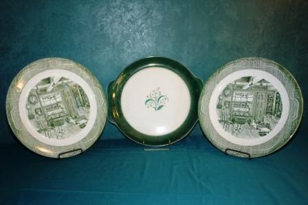 24: lot of China plates
