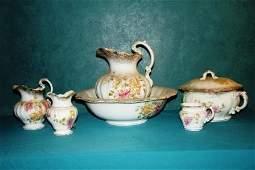 327: porcelain Wash set