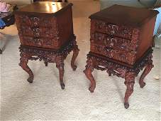 One Pair of 5  Custom Crafted Night Stands Made