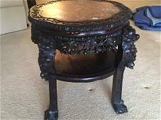 19th c. Chinese Flower Stand