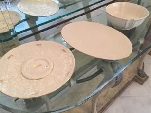 3-Lenox (seder plate,bowl,platt.)