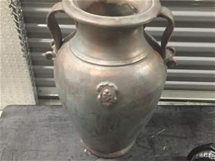 Double Handle Floor Vase